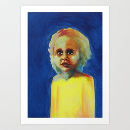Les petites filles I.16 Art Print