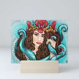 Sea Goddess 5 Mini Art Print