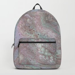 mauve and teal Backpack