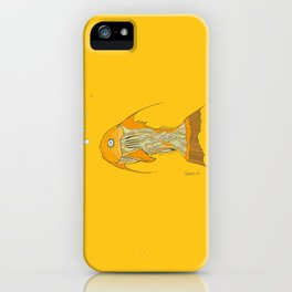 Francis the Fish iPhone Case