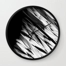 Abstract Pattern B&W1 Wall Clock