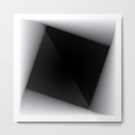 Descending squares -01 Metal Print