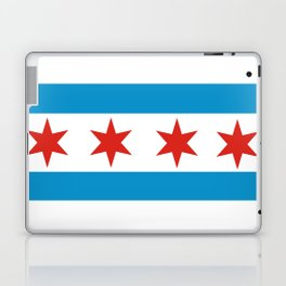 chicago flag Laptop & iPad Skin