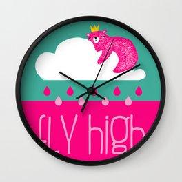 ☆ Fly high ☆ Wall Clock