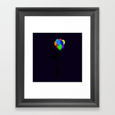 The Happy Flight Framed Art Print