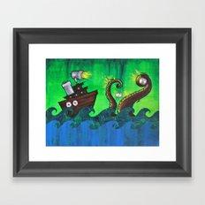 Thieves Framed Art Print