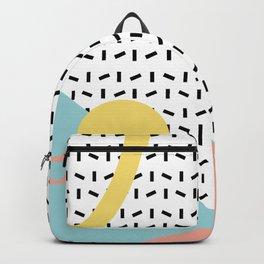 Memphis Pattern 8 - 80s - 90s - Retro Backpack