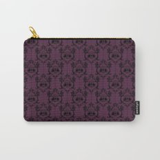 Halloween Damask - Violet Carry-All Pouch