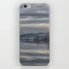 FLIGHT ON THE LAKE iPhone Skin