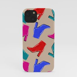 Shiny High Heel Boots iPhone Case