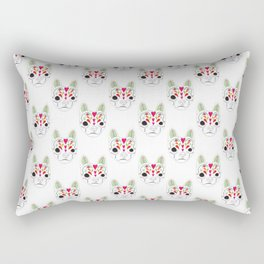 Devereux Sugar Skull 1 Rectangular Pillow