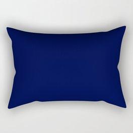 Blue Midnight Rectangular Pillow