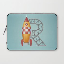R is for Rocket Laptop Sleeve