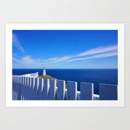 Brilliant White On The Sea Art Print