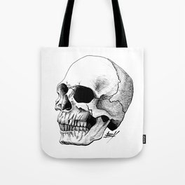 Dire Skull - A Macabre Warning Tote Bag