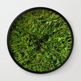 Freshly Mown Grass Wall Clock