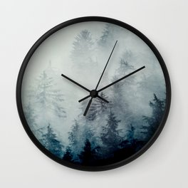 The hollows in fall Wall Clock