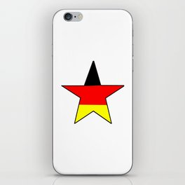 Flag of Germany 4 iPhone Skin