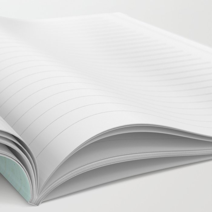 Aqua Cottage Notebook