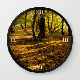 London Woods Wall Clock