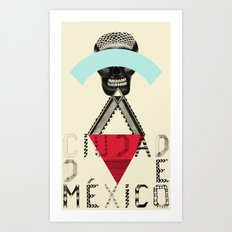 Locals Only - Ciudad de México Art Print