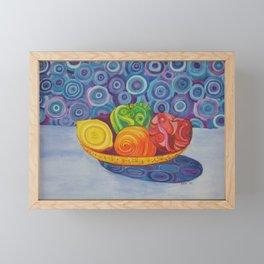 Fruit Bowl Still Life Framed Mini Art Print