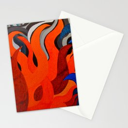 Battle of the Elements: Fire Stationery Cards