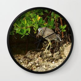 Love Crabs For Lunch Wall Clock