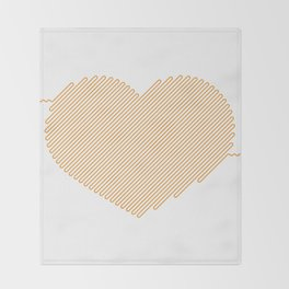 Heart Circuit Throw Blanket