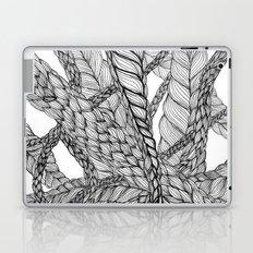 looping braids Laptop & iPad Skin