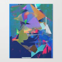 tchmo Canvas Prints featuring Untitled 20150723u by tchmo