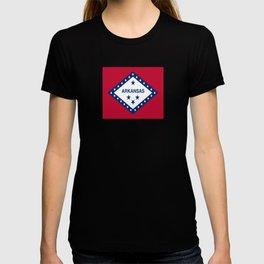 flag of arkansas-america,usa,The Natural State,Arkansan, Arkansawyer,Arkanite,Little Rock,Fort Smith T-shirt