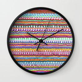 fusion color invasion Wall Clock