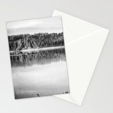 Love the nature. Adventure at the lake Stationery Cards