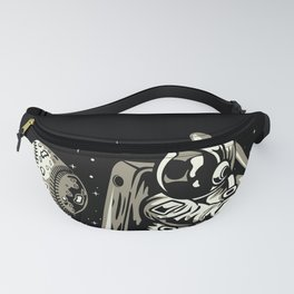 Space Baseball Astronaut Fanny Pack