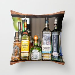 Last Call For Alcohol Throw Pillow