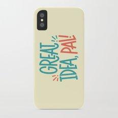 Great Idea iPhone X Slim Case