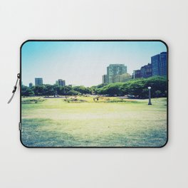 Chicago (outside Lincoln Park Zoo) Laptop Sleeve