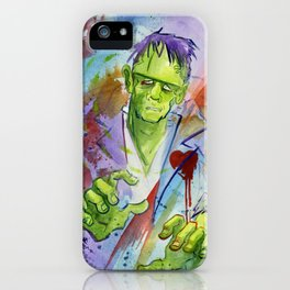 Friend Frankenstein iPhone Case