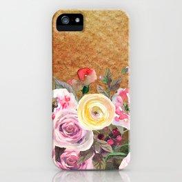 Flowers bouquet #43 iPhone Case