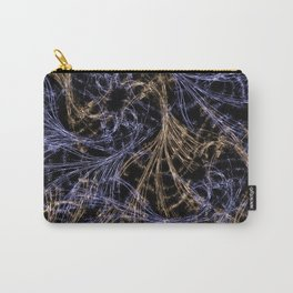 Blue Magical Wisps Carry-All Pouch