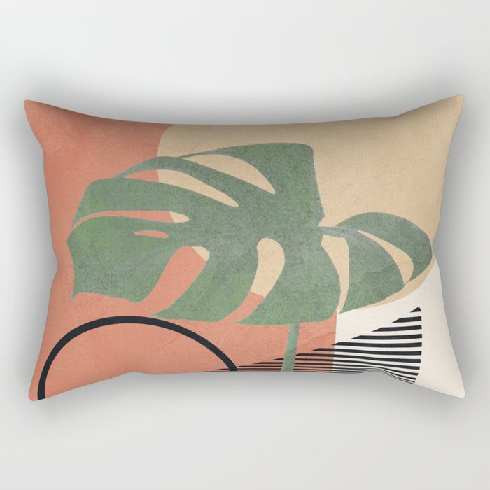 Nature Geometry I Rectangular Pillow