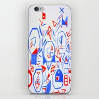 aliens iPhone & iPod Skins featuring Aliens by KalinaM