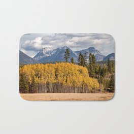 Big Prairie - Glacier National Park Bath Mat