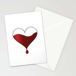 My heart knocking for you. Stationery Cards