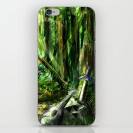 The Great Gaming Forest iPhone Skin