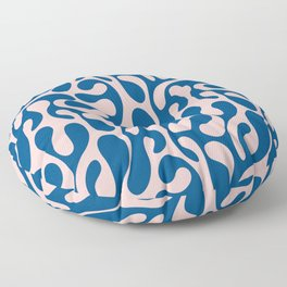Blush & Blue Spilled Floor Pillow