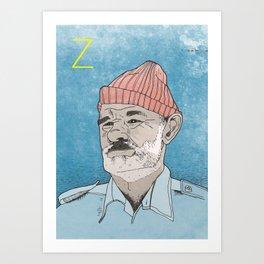 Zizzou Art Print