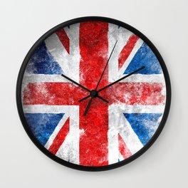 Union Jack Vintage Wall Clock