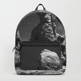 Picturesque Arches Park Landscape Backpack